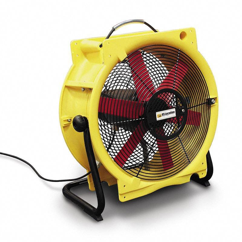 extracteur air - ventilateur 4500m3 h - 460mm