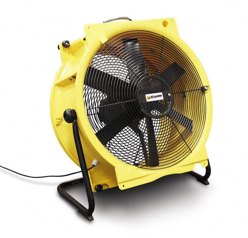 extracteur air - ventilateur 7000m3 h - 460mm