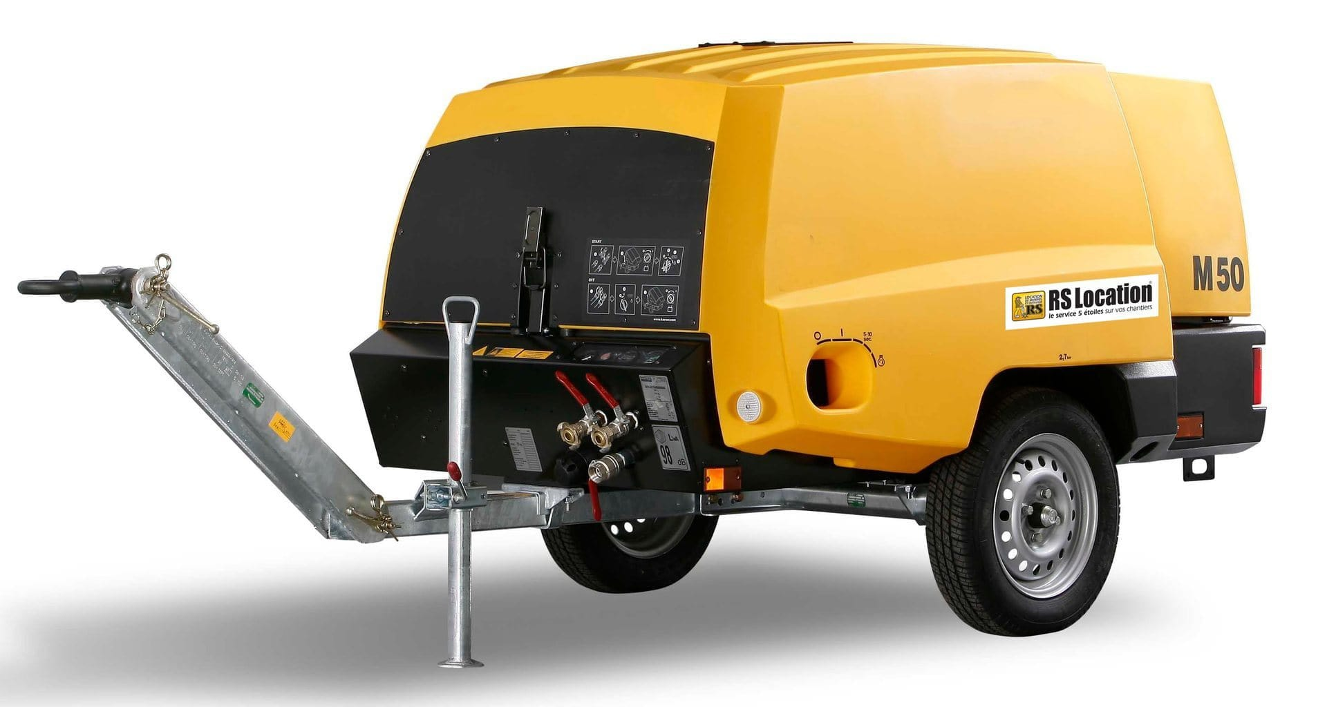 compresseur d'air diesel 5600 l min